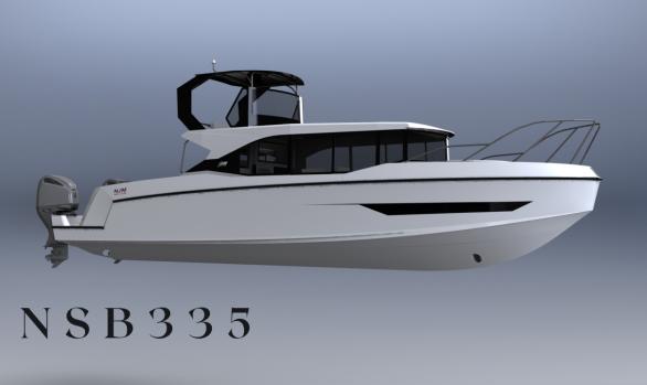 NJM NSB335 飛橋式休閒海釣船